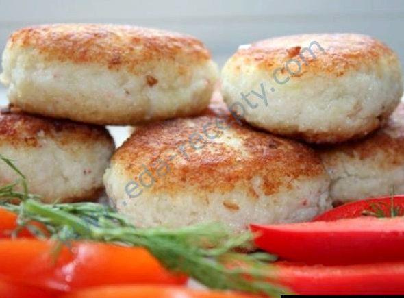 Котлеты из филе минтая рецепт с пошаговым фото