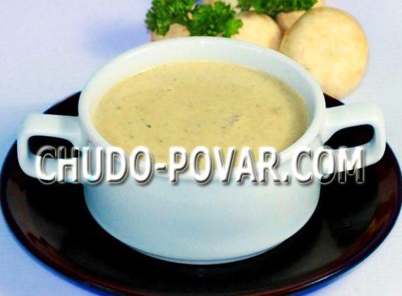 Крем-суп из шампиньонов с картофелем со сливками рецепт с фото