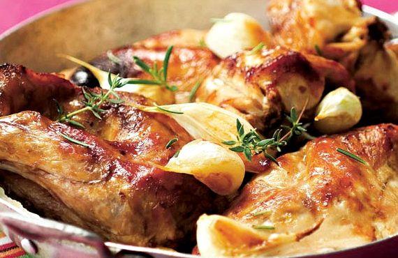 Кролик рецепт приготовления в сметане в духовке