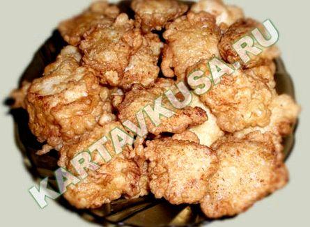 Курица в кляре на сковороде рецепт с фото пошагово