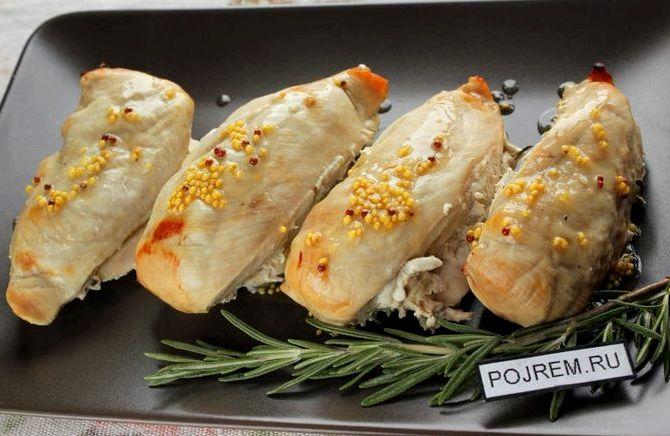 Куриное филе в духовке в сметане рецепт с фото