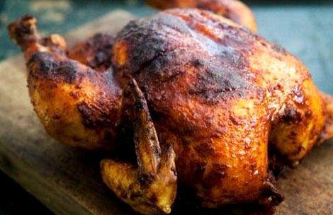 Куриные крылышки горячего копчения рецепт