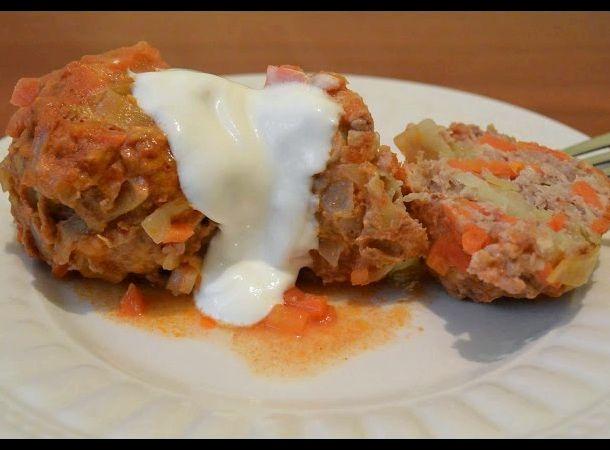 Ленивые голубцы рецепт без риса с фото пошагово