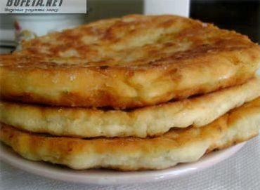 Лепешки на молоке на сковороде рецепт с фото