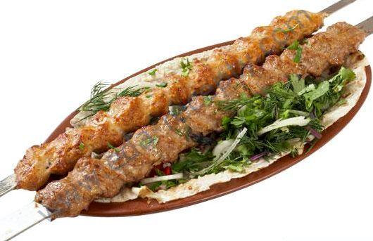 Люля кебаб из баранины на мангале рецепт
