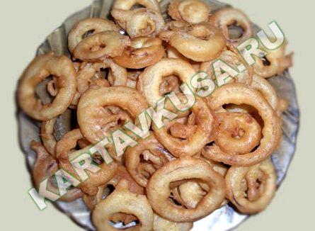 Луковые кольца рецепт пошагово с фото