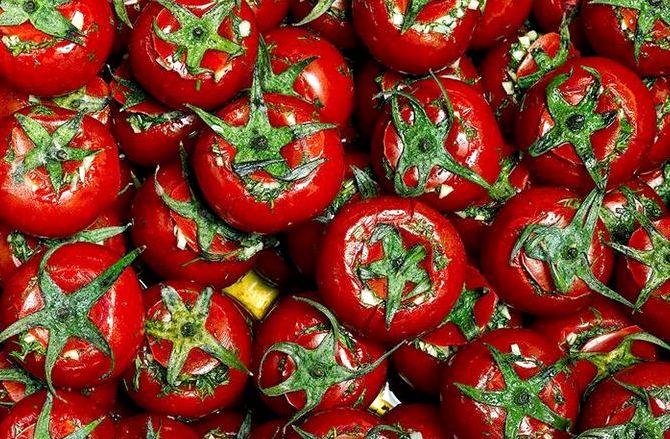 Малосольные помидоры в пакете рецепт