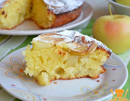 Манник с яблоками рецепт с фото пошагово в духовке