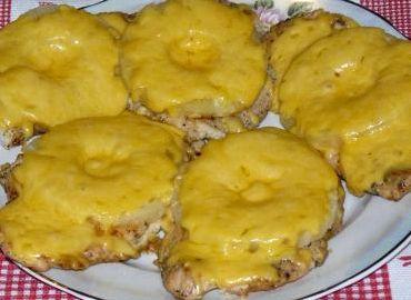Мясо по французски с ананасами рецепт