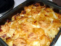 Мясо с картошкой запеченное в духовке рецепт с фото