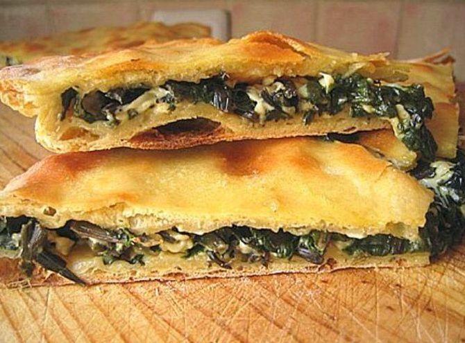 Начинки для осетинских пирогов рецепт с фото