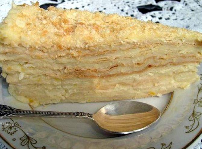 Наполеон торт видео рецепт с заварным кремом самый вкусный