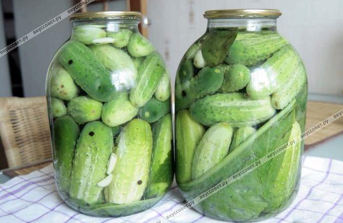 Огурцы маринованные пошаговый рецепт с фото