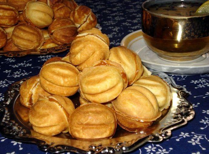 Орешки со сгущенкой классический рецепт мягкие