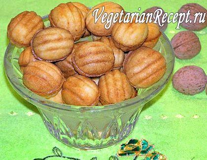 Орешки в орешнице рецепт с пошаговым фото