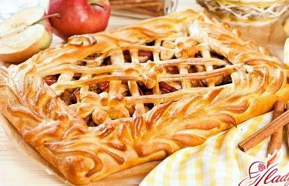 Открытый яблочный пирог из дрожжевого теста рецепт с фото
