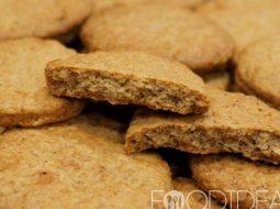 Овсяное печенье на растительном масле рецепт