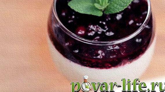 Панакота рецепт с фото пошагово в домашних