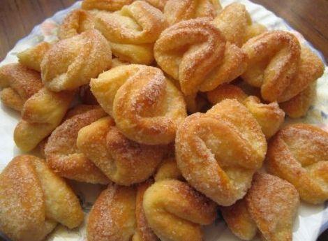 Печенье из творога поцелуйчики рецепт с фото