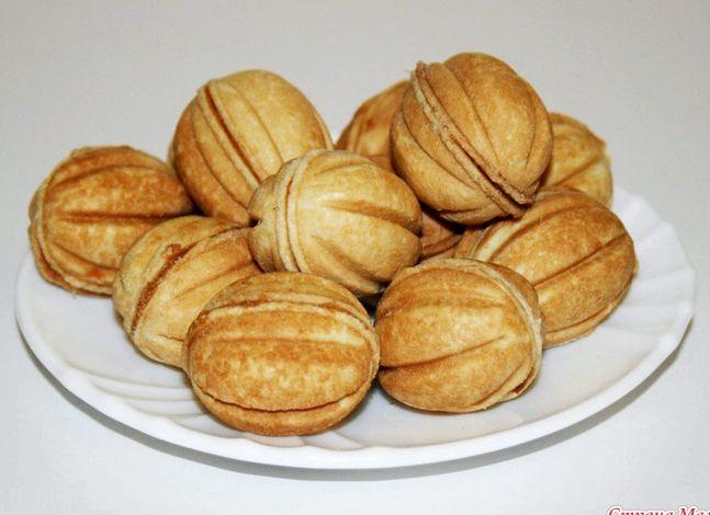 Печенье орешки с сгущенкой рецепт с фото