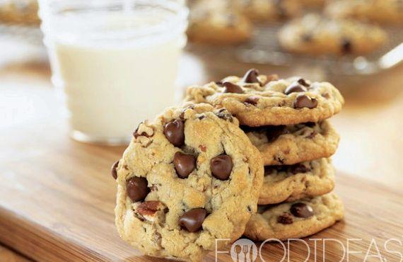 Печенье с кусочками шоколада рецепт