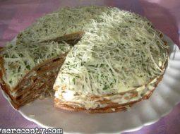 Печеночный торт рецепт пошаговый рецепт фото