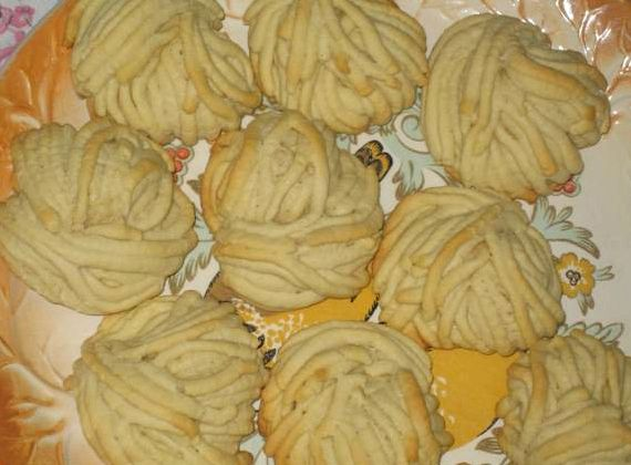 Песочное печенье рецепт через мясорубку рецепт с фото