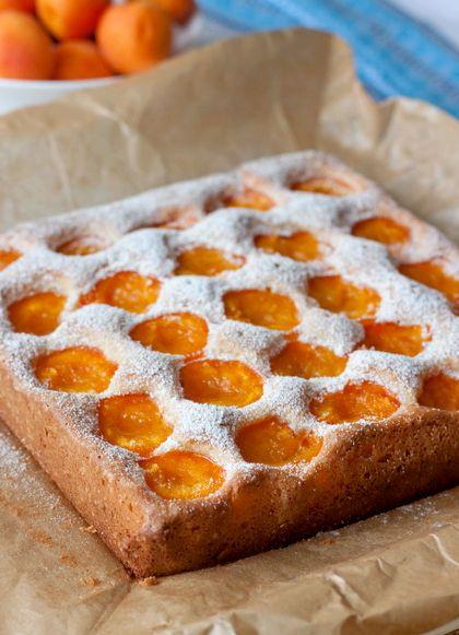 Пирог из свежих абрикосов рецепт с фото