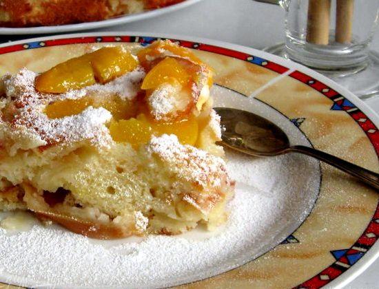 Пирог с яблоками и абрикосами рецепт с фото