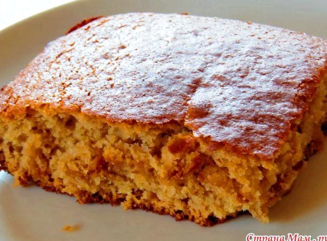 Пирог с вареньем на кефире в духовке рецепт