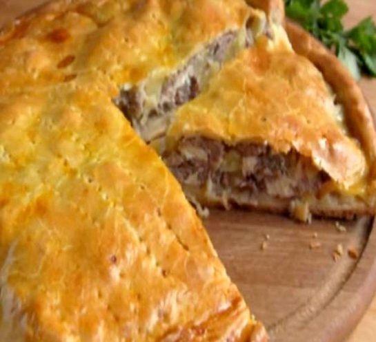 Пирог в духовке рецепт с фото пошагово