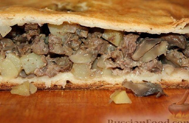 Пироги с картошкой и грибами рецепт с фото