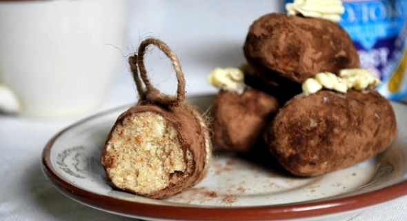 Пирожное картошка рецепт с сухарями