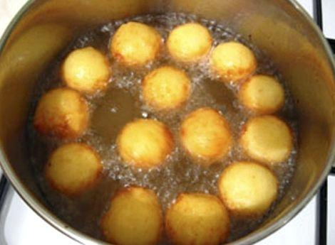 Пончики без дрожжей рецепт пошаговый с фото