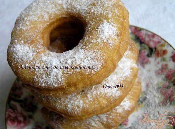 Пончики из кислого молока рецепт с фото