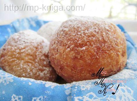 Пончики из творога рецепт с фото пошагово в масле