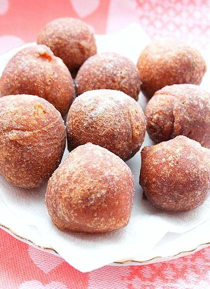 Пончики на дрожжах и кефире рецепт с фото