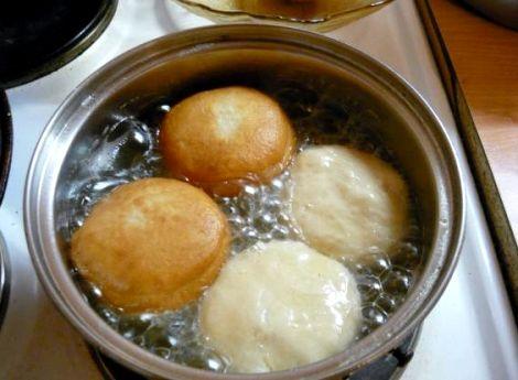 Пончики с заварным кремом пошаговый рецепт с фото
