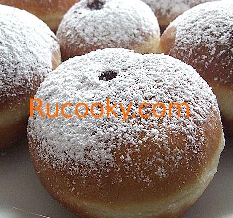 Пончики со сгущенкой с фото пошаговый рецепт