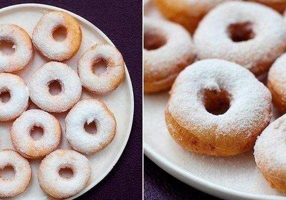 Пончики творожные пошаговый рецепт с фото