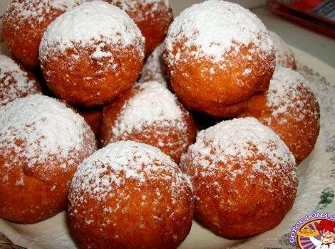 Пончики творожные рецепт пошаговый с фото