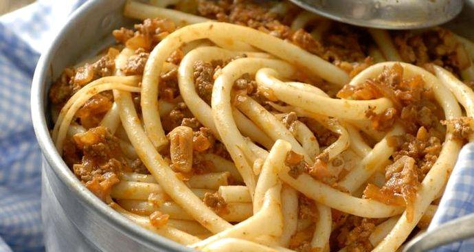 Пошаговый рецепт с фото макароны по флотски