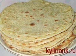 Рецепт армянского лаваша в домашних условиях без дрожжей