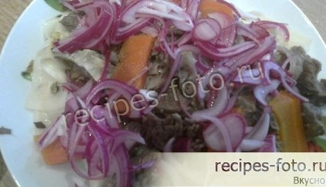 Рецепт бешбармака в домашних условиях из свинины