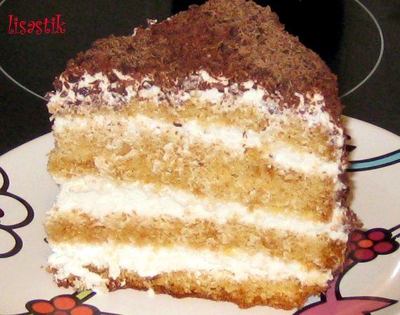 Рецепт бисквита для сметанного крема