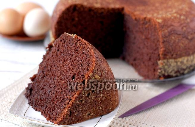 Рецепт бисквита шоколадного в мультиварке