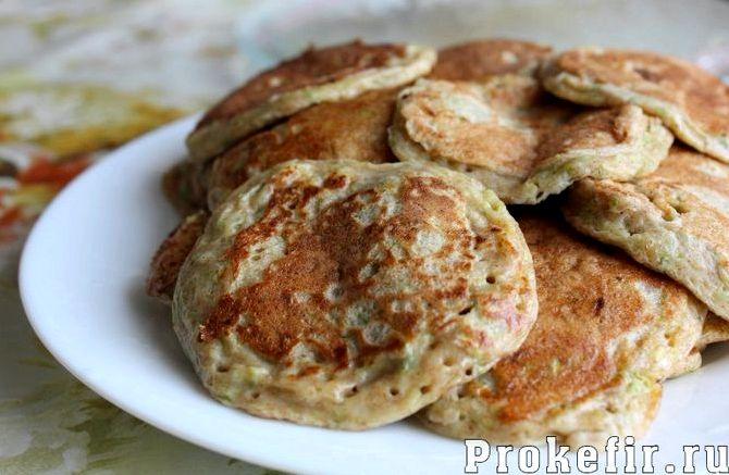 Рецепт блинов из кабачков с фото пошагово
