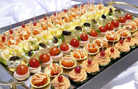 Рецепт бутербродов с фото на день рождения