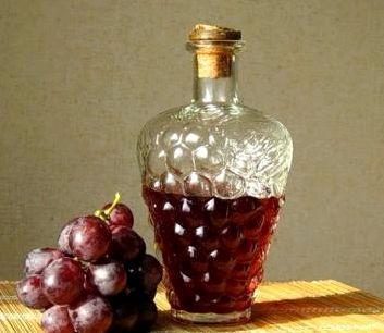 Рецепт домашнего вина из домашнего винограда