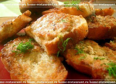 Рецепт горячих бутербродов на сковороде